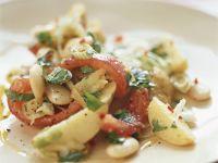 White Bean, Potato and Tomato Salad