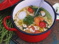 White Bean Soup with Vegetables recipe