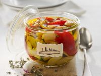 White Beans and Bell Peppers in Oil recipe