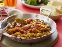 White Beans with Chorizo and Tomato recipe