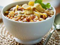 White Chili with Beans recipe