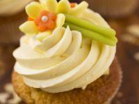 White Chocolate and Marzipan Cupcakes recipe