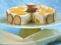 White Chocolate and Orange Ice Cream Torte recipe