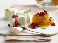 White Chocolate-Yogurt Mousse recipe