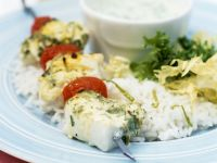 White Fish and Herb Skewers recipe