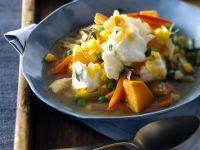 White Fish Casserole with Broth recipe