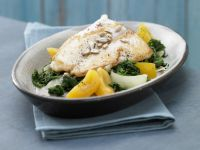 Spinach and Apricots recipe