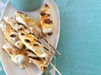 White Fish Skewers with Salsa recipe