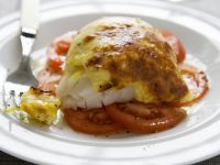 White Fish with Glazed Topping recipe