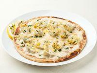 White Pizza with Artichoke recipe