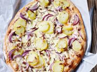 White-style Pizza recipe