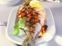 Whole Bream with Salsa recipe