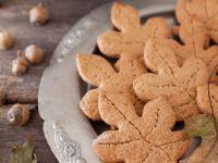 Whole-Wheat Oak Leaf Cookies recipe