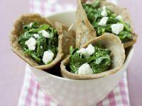 Wholewheat Greek Wraps recipe