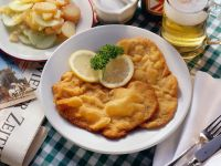 Wiener Schnitzel with Potato Salad recipe