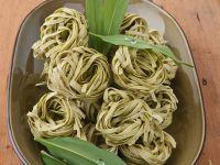Wild Garlic Pasta Nests recipe
