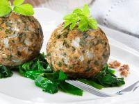 Wild Herb Dumplings recipe