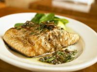 Med-style Fish with Parsley recipe
