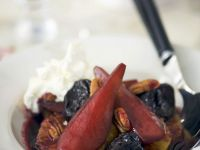Wine-poached Fruit recipe