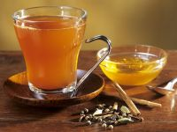 Wintry Green Tea with Spices and Honey recipe