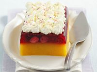 Wobbly Fruit Terrine with Topping recipe