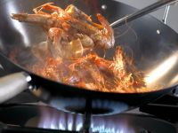 Wok-Fried Gamba Prawns recipe