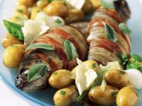 Wrapped Fish with Potatoes recipe