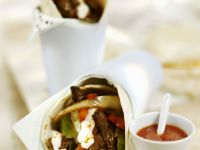 Wrapped Tortillas with Beef recipe