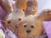 Yeast Dough Easter Bunny recipe