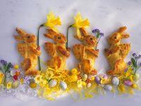 Yeast Easter Bunnies recipe