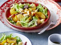 Yellow Beet and Cheese Salad recipe