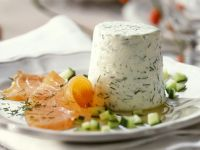 Yoghurt Mousse with Smoked Salmon recipe