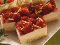 Yogurt Bars with Strawberries recipe