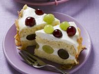 Yogurt Cake with Grapes recipe