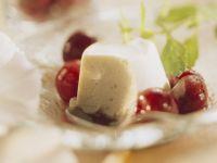 Yogurt Cream with Cherries recipe
