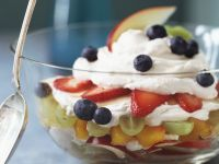 Yogurt Cream with Fruit recipe