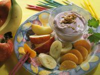 Yogurt with Fruit and Walnuts recipe