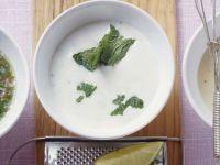 Yogurt with Mint Vinaigrette recipe
