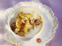 Yogurt with Roasted Apple recipe
