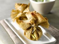 Young Beef Crepe Parcels recipe