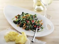 Young Kale and Carrot Salad recipe