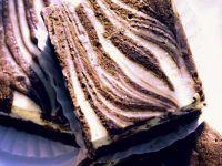 Zebra Brownies recipe