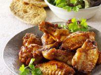 Zesty BBQ Wings recipe