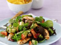 Zesty Chicken and Avocado Salad recipe