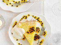 Zesty Lemon and Passionfruit Tart recipe