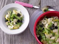 Pasta Salad with Green Vegetables