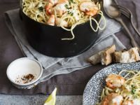 Zesty Shrimp Pasta recipe
