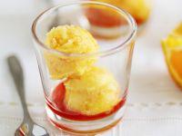 Zingy Orange Sorbet recipe