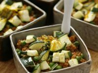 Zucchini and Beef Dish recipe