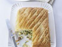 Zucchini and Cheese Puff recipe